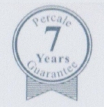 Percale 7 Year Guarantee